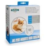 Petsafe kattenluik tot 7 kg magnetisch slot wit (400)