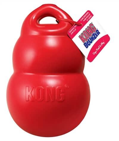 Kong bounzer rood (14X14X20,5 CM)