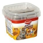 Sanal cat hairball bites cup (75 GR)