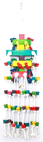 Happy pet speelgoed raindrop papegaai