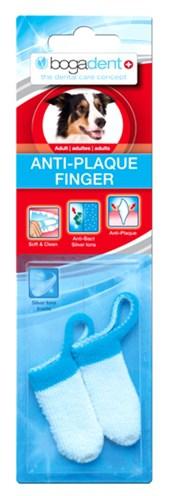 Bogadent plaque vinger tandenborstel adult