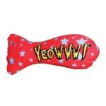 Yeowww stinkies catnip sardientje met sterren (7,5 CM)