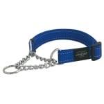 Rogz for dogs lumberjack choker blauw (25 MMX43-73 CM)