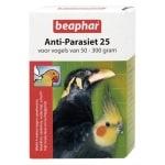 Beaphar anti-parasiet 25 vogel (50-300gr) (2 PIP)