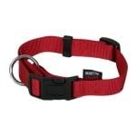 Martin sellier halsband basic nylon rood (25 MMX45-65 CM)