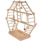 Trixie speelplaats ladder  hout (44X16X44 CM)