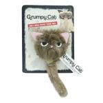 Grumpy cat fluffy grumpy cat met catnip (5X5X5 CM)