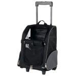 Trixie reismand trolley zwart / grijs assorti (36X27X50 CM)