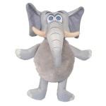 Safari olifant van stevig nylon grijs (28 CM)