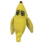 Grumpy bananen schil ritsel speelgoed (10 CM)