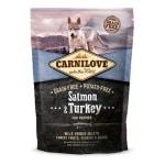Carnilove salmon / turkey puppies (1,5 KG)