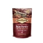 Carnilove duck / turkey large breed (2 KG)