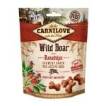 Carnilove crunchy snack everzwijn / rozenbottel (200 GR)