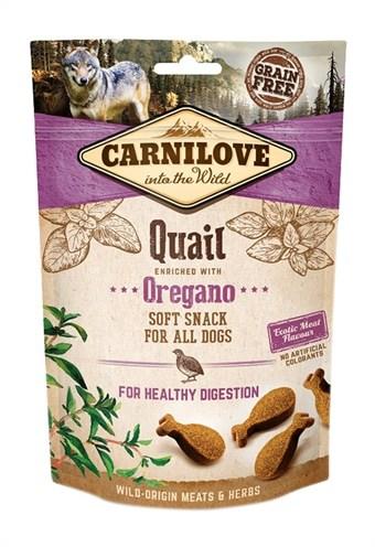 Carnilove soft snack kwartel / oregano (200 GR)