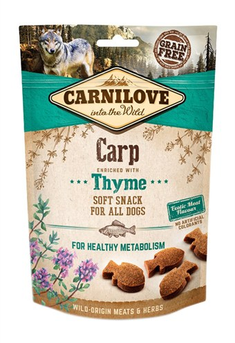 Carnilove soft snack karper / tijm (200 GR)