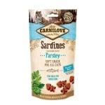 Carnilove soft snack sardines / peterselie (50 GR)