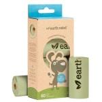 Earth rated poepzak geurloos composteerbaar (60 ST)