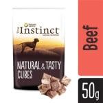 True instinct tasty cubes 100% beef (50 GR)