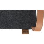 Trixie hangmat voor in kast vilt antraciet (56X36 CM)