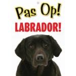 Waakbord nederlands kunststof labrador (21X15 CM)
