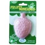 Happy pet fruity mineral aardbei (210 ML 9,5X6,5X2,5 CM)