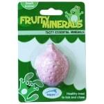 Happy pet fruity mineral aardbei (5,5X4,5X2,3 CM)