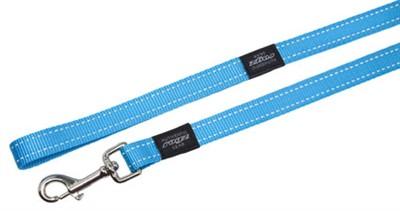 Rogz for dogs fanbelt long lijn turquoise (20 MMX1,8 MTR)