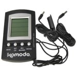 Komodo thermometer/hygrometer digitaal