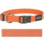 Rogz for dogs fanbelt halsband oranje (20 MMX34-56 CM)