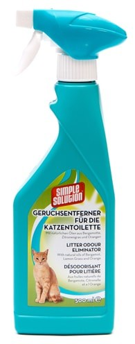 Simple solution deodorizer voor kattentoilet (500 ML)