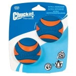 Chuckit ultra squeaker bal (MEDIUM 6 CM 2-PACK)