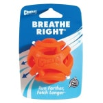 Chuckit breathe right fetch bal oranje (6 CM)