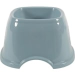 Zolux non-slip cocker spaniel voerbak blauw / grijs assorti (19X19X11 CM)