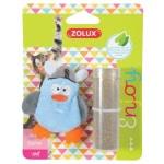 Zolux piraat eend met catnip blauw (6X1X7 CM)