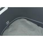 Trixie fietsmand voor bagagedrager met draadkoepel kunststof grijs (46X36X47 CM)
