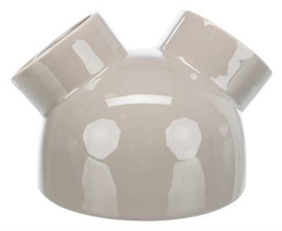 Trixie speelhuis muizen met 3 ingangen keramiek taupe (16X16X12 CM)