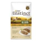 True instinct pouch no grain mini adult chicken pate (8X150 GR)