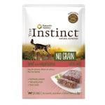 True instinct pouch no grain adult beef pate (8X70 GR)