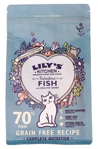 Lily's kitchen cat fisherman's feast fish (800 GR)