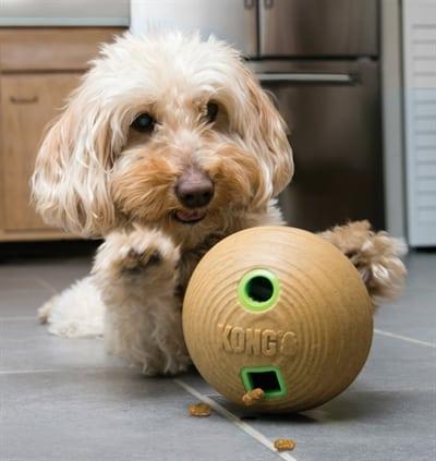Kong bamboo feeder bal voerbal (12X12X12 CM)