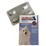 Milbemax kauwtablet ontworming kleine hond/puppy (4 TABLETTEN)
