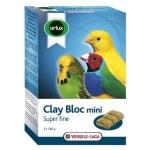 Orlux klei blok mini kanarie/parkiet/tropische vogels (3X180 GR)
