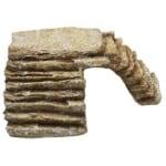 Komodo hoektrap met uitsparing zand (LARGE)