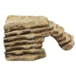 Komodo hoektrap met uitsparing zand (SMALL)