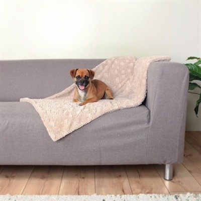 Trixie hondendeken cosy fleece beige (150X100 CM)