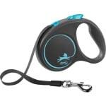 Flexi rollijn black design tape blauw (S 5 MTR TOT 15 KG)