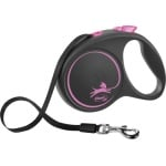 Flexi rollijn black design tape roze (L 5 MTR TOT 50 KG)