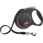Flexi rollijn black design tape roze (L 5 MTR TOT 50 KG)