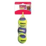 Kong crunchair tennisballen (5X5X5 CM 3 ST)