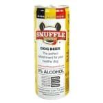 Snuffle hondenbier kipsmaak in blik (25 CL)